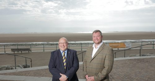 Sean Donkin, managing director of The Inn Collection Group and Councillor Graeme Miller, leader of Sunderland City Council