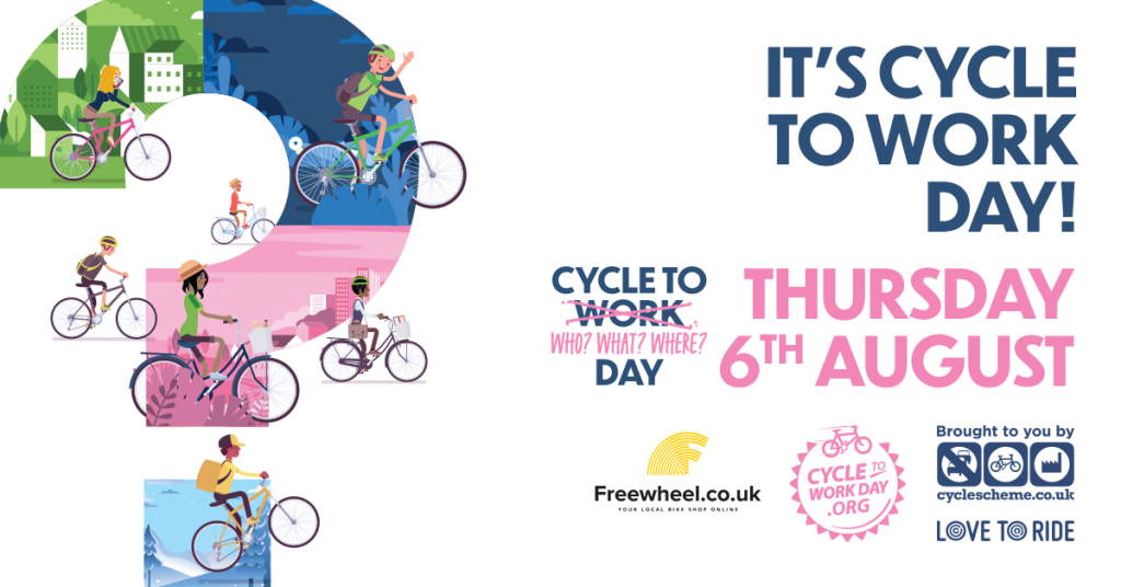 Cycle to Work Day 2020